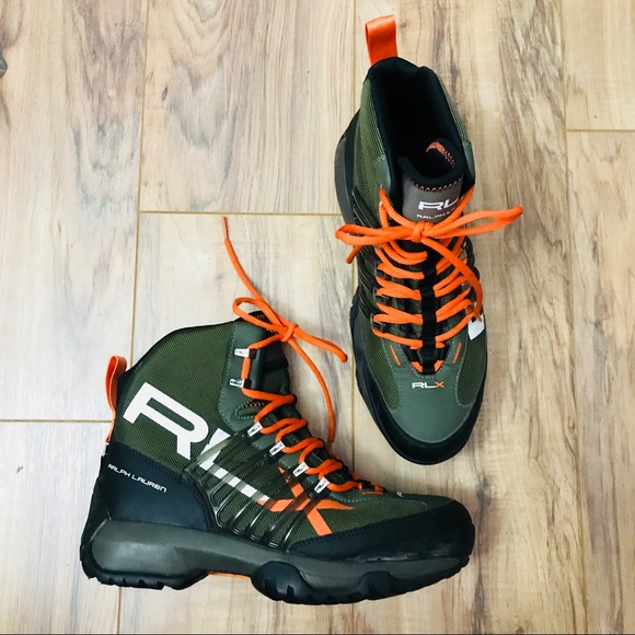 ShoesRlx Black Nylon Green Abridge Ralph Lauren Boots Poshmark kN08nwOPXZ
